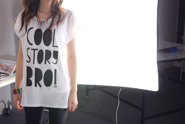 cool story bro tshirt from heroandcape, cool story bro tshirt