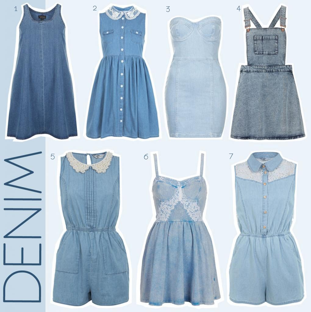 HIGH STREET DENIM TRENDS