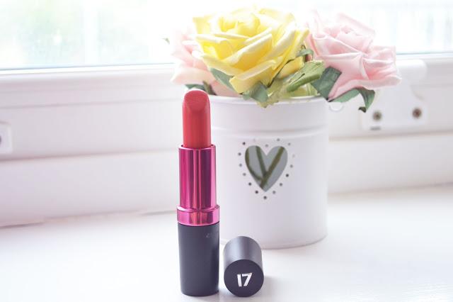 Perfect red lipstick for asian skintone, Seventeen lipstick hot chilli