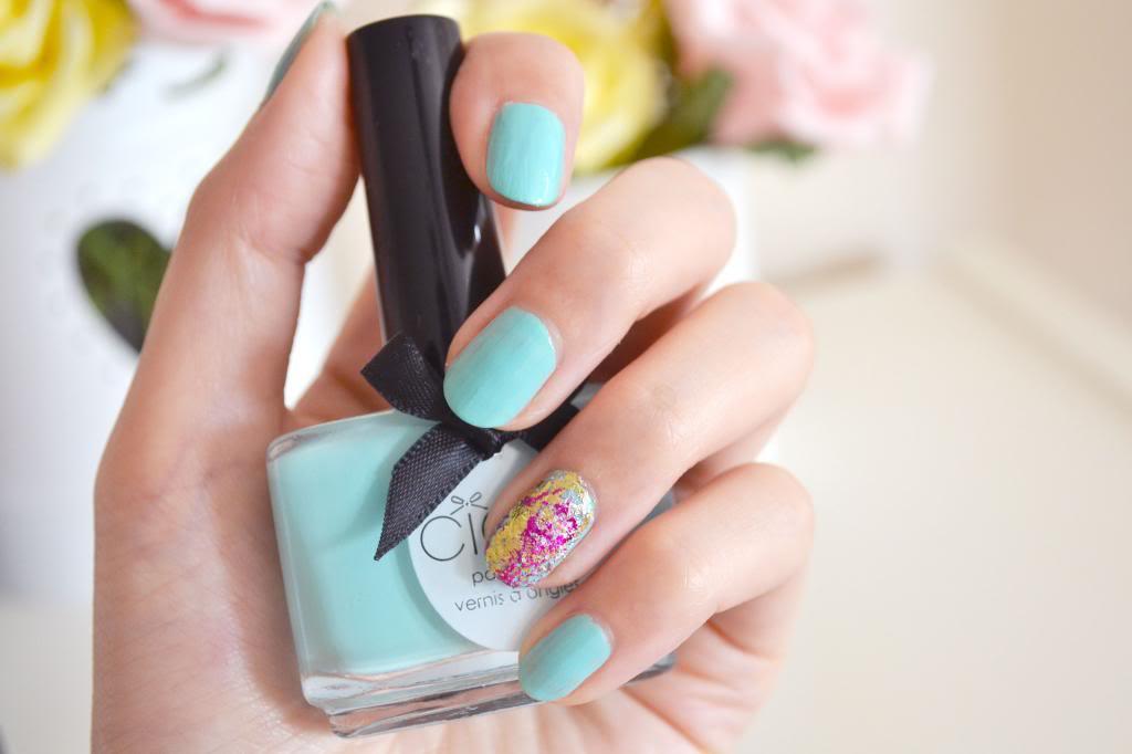 How To Do Foil Manicure with Ciaté Very Colourfoil
