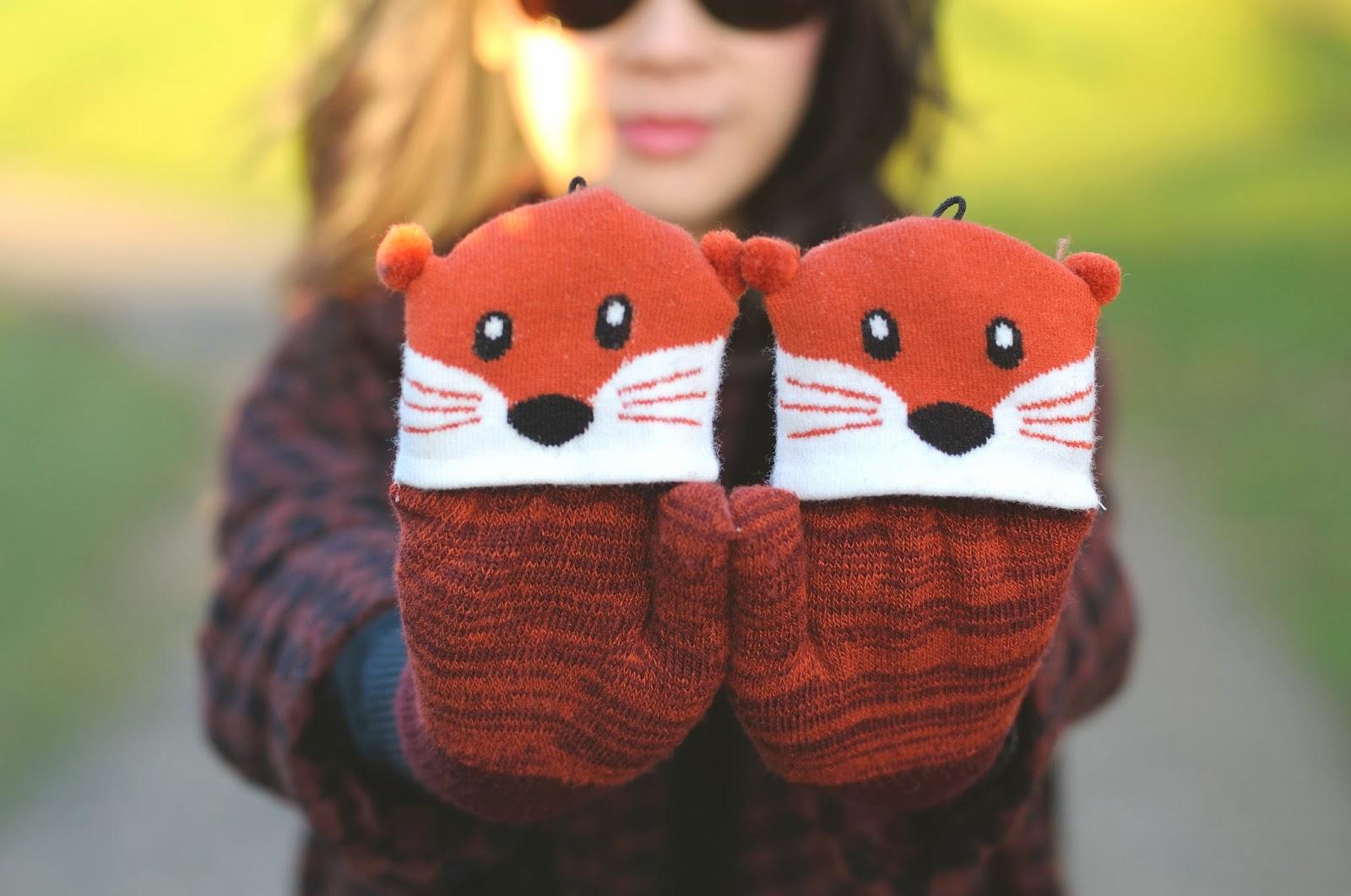 Primark Fox Gloves, primark winter accessories