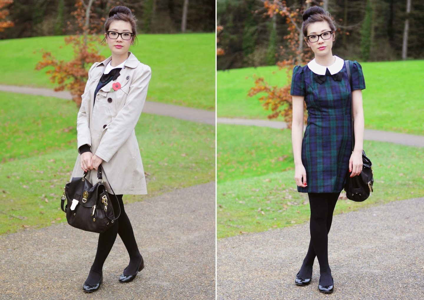 ac4b4cb4e How to Style: Tartan Dress from Primark - Temporary:Secretary ...