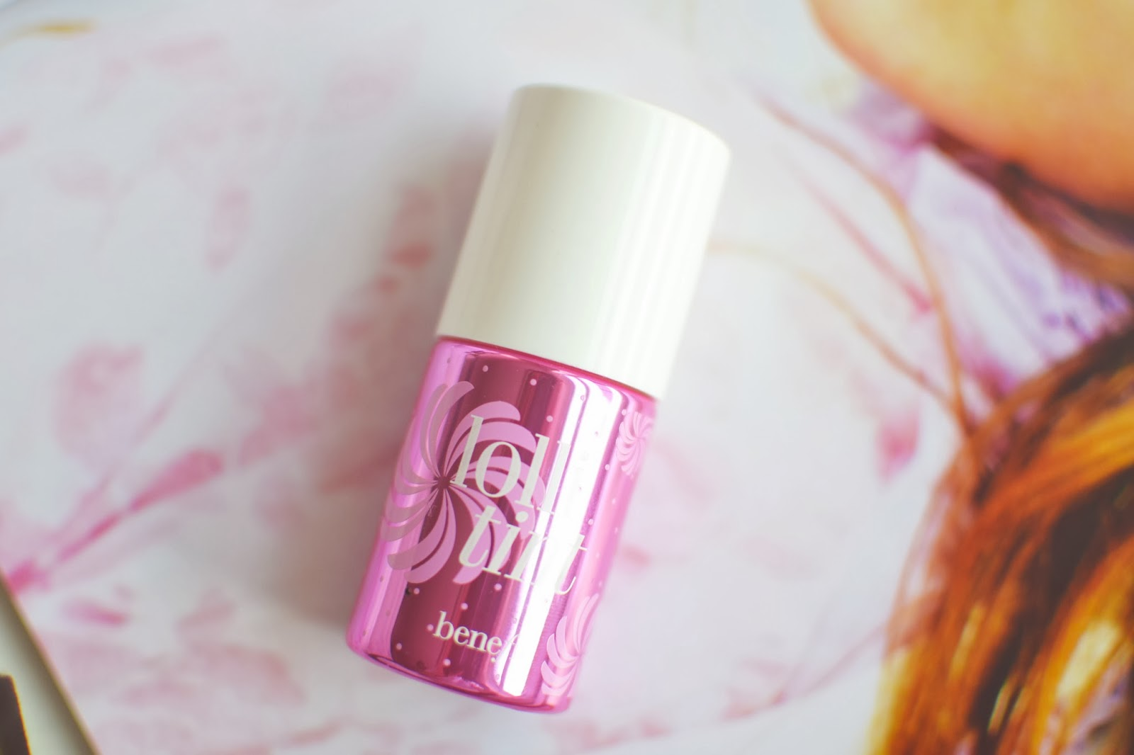 pink cheek stain, benefit cosmetics lollitint