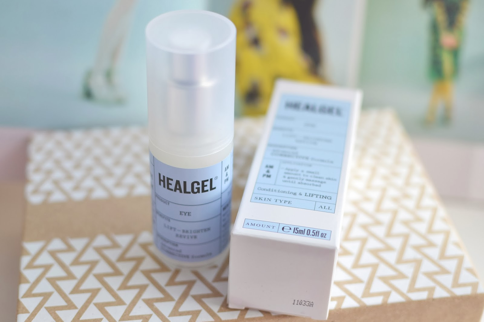 healgel eye review, best affordable eye cream