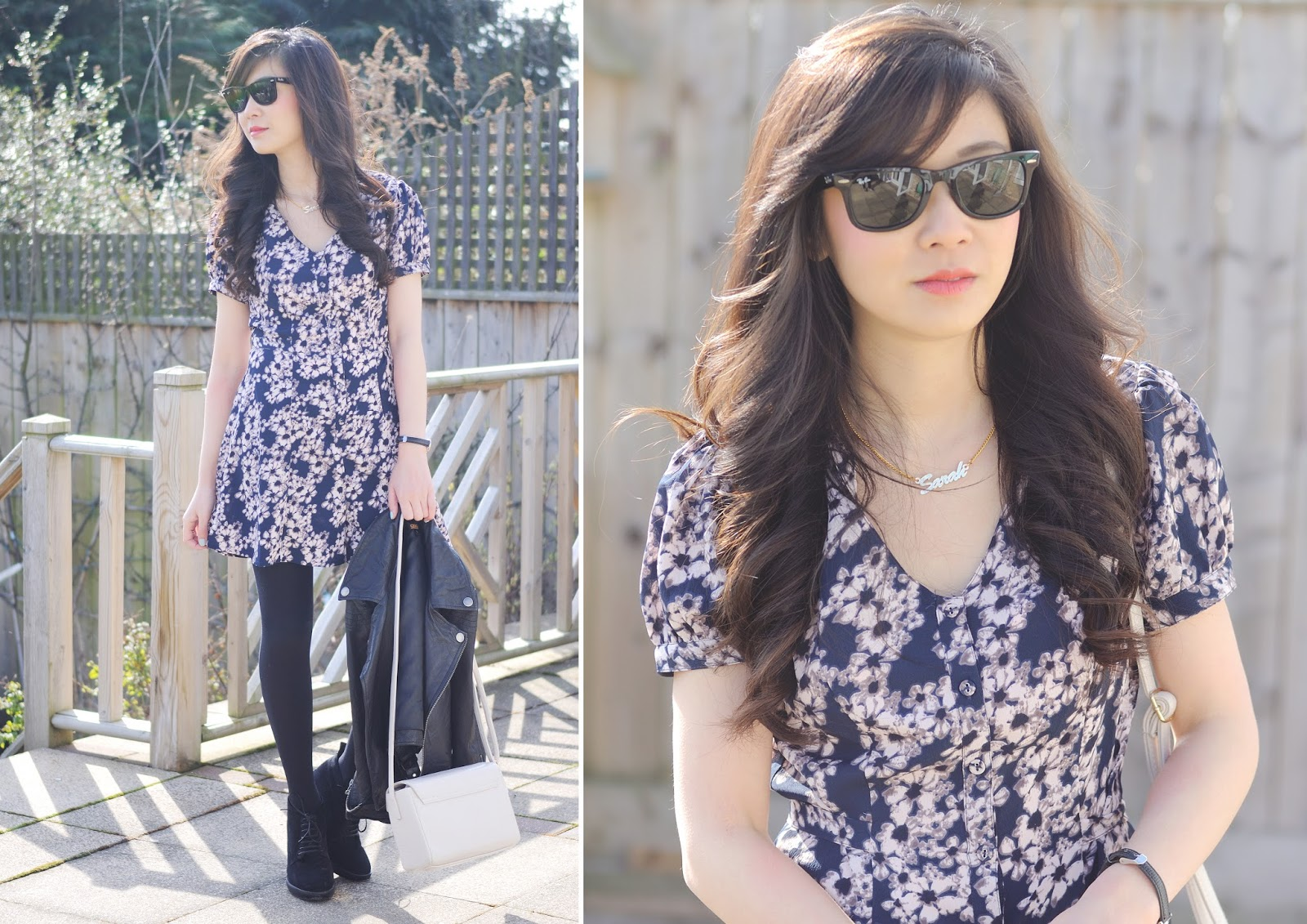 how to style a floral playsuit for spring