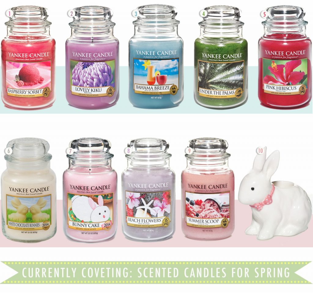 candles for spring, mothers day gift guide