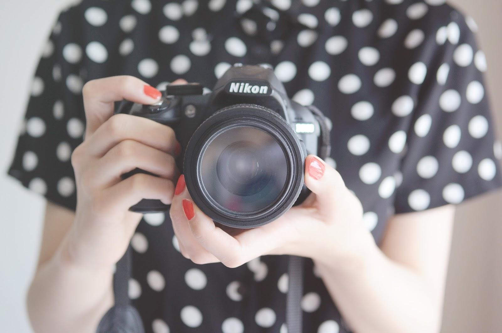 DLSR Nikon d3100, fashion bloggers camera