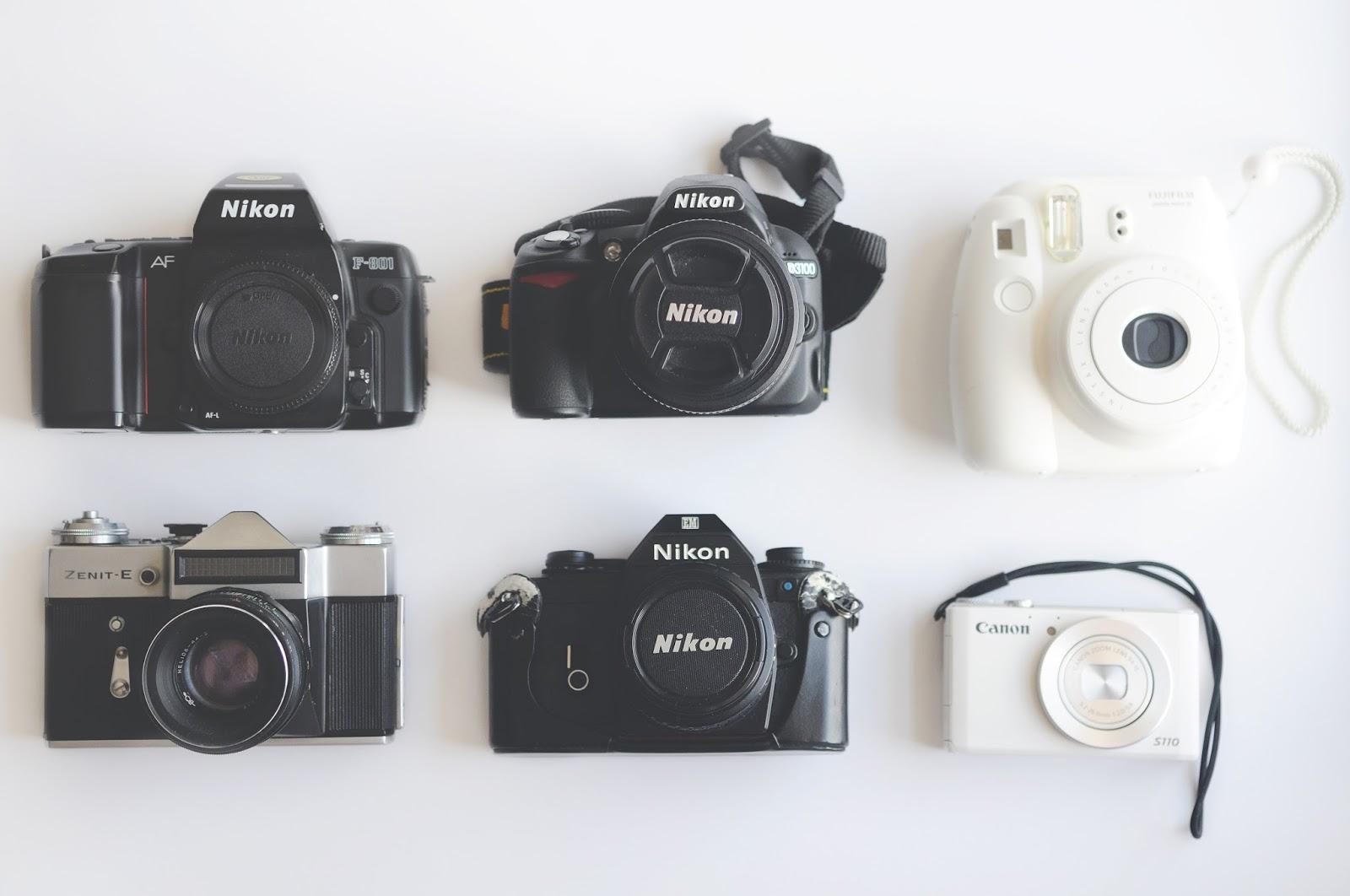 What cameras do fashion bloggers use, fashion blog photography advice