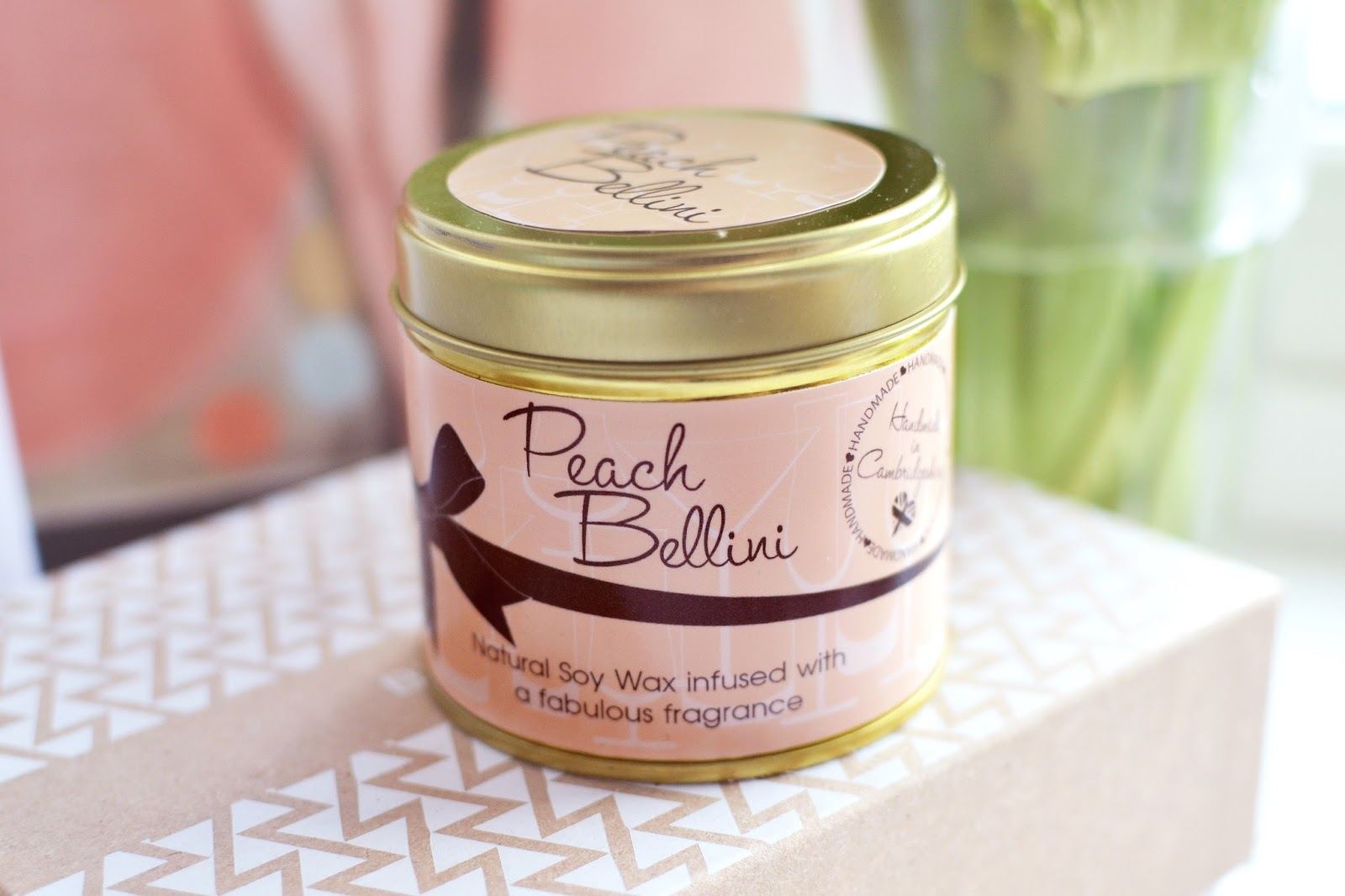 peach bellini candle