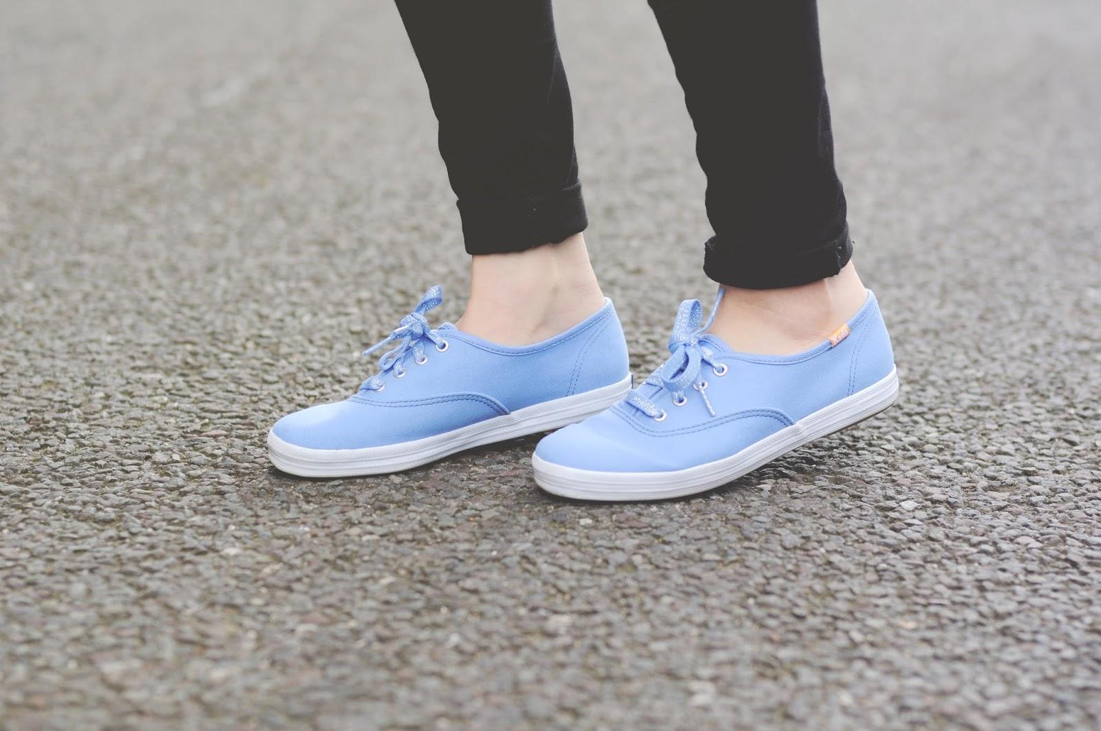 blue keds trainers