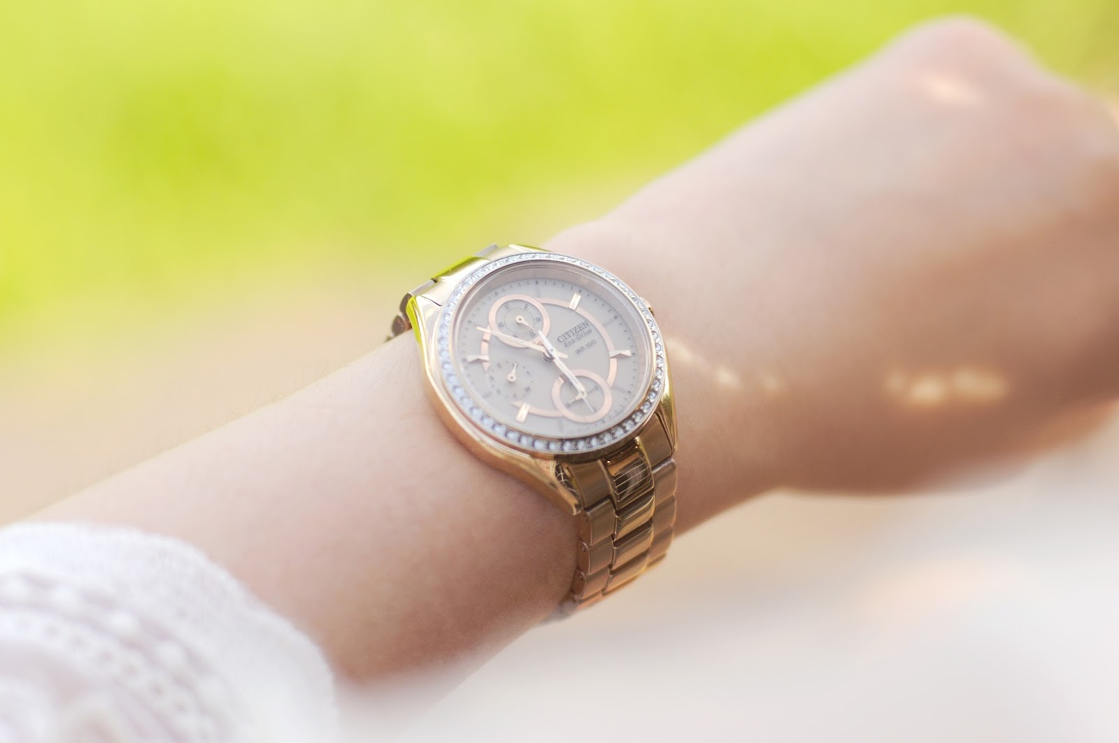 citizen drive ladies watch, rose gold watch, alternative to michael kors