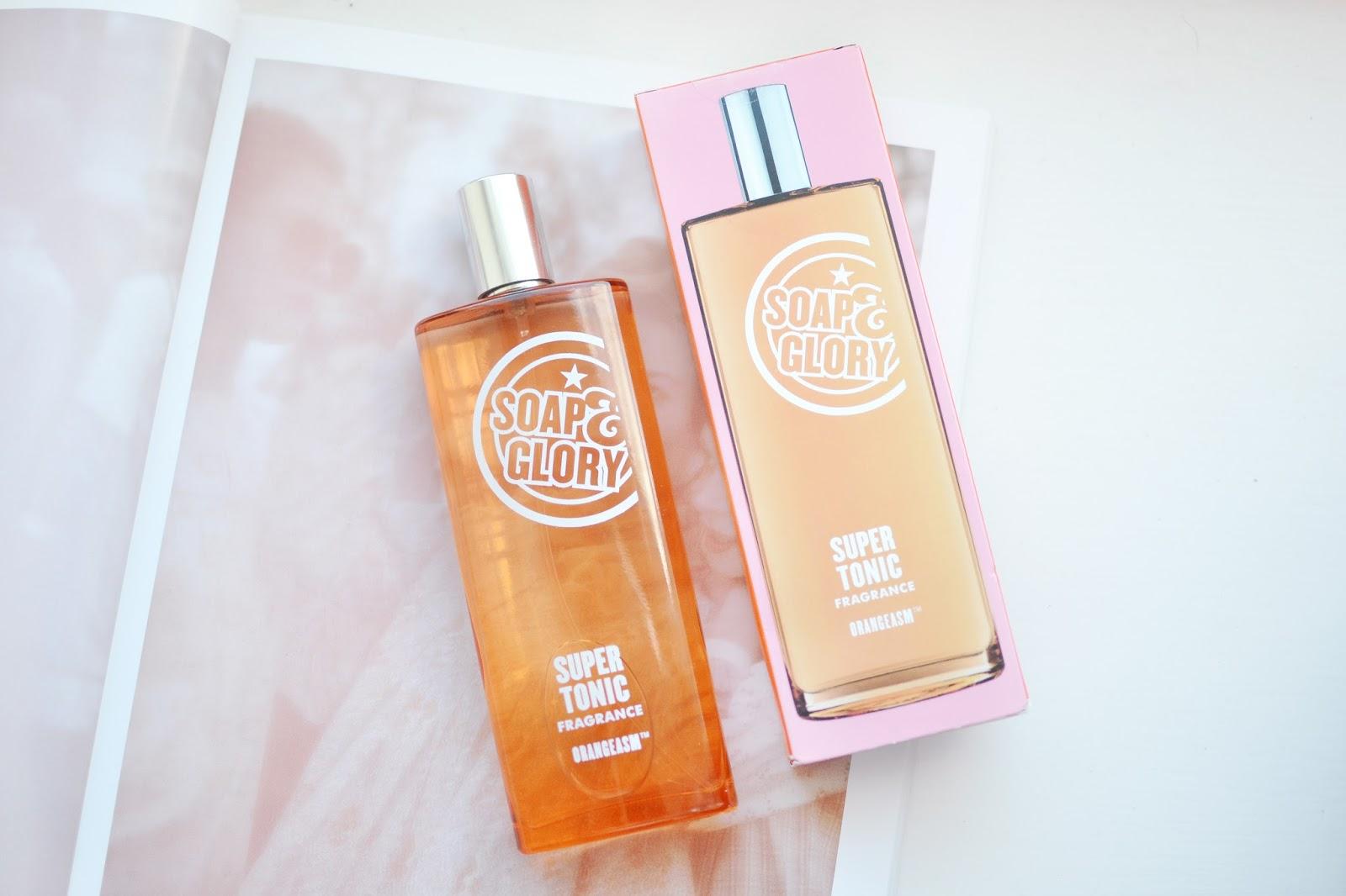 Soap&Glory ORANGEASM super tonic fragrance review