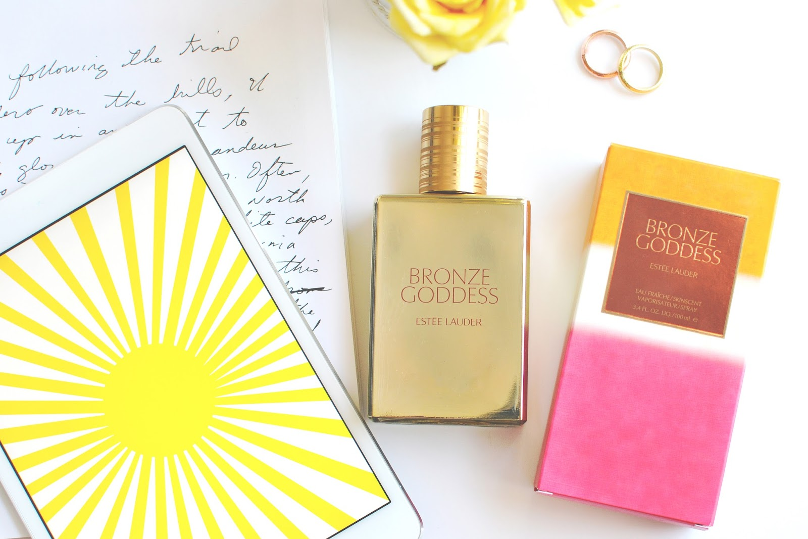 A review of bronze goddess perfume by Estee Lauder