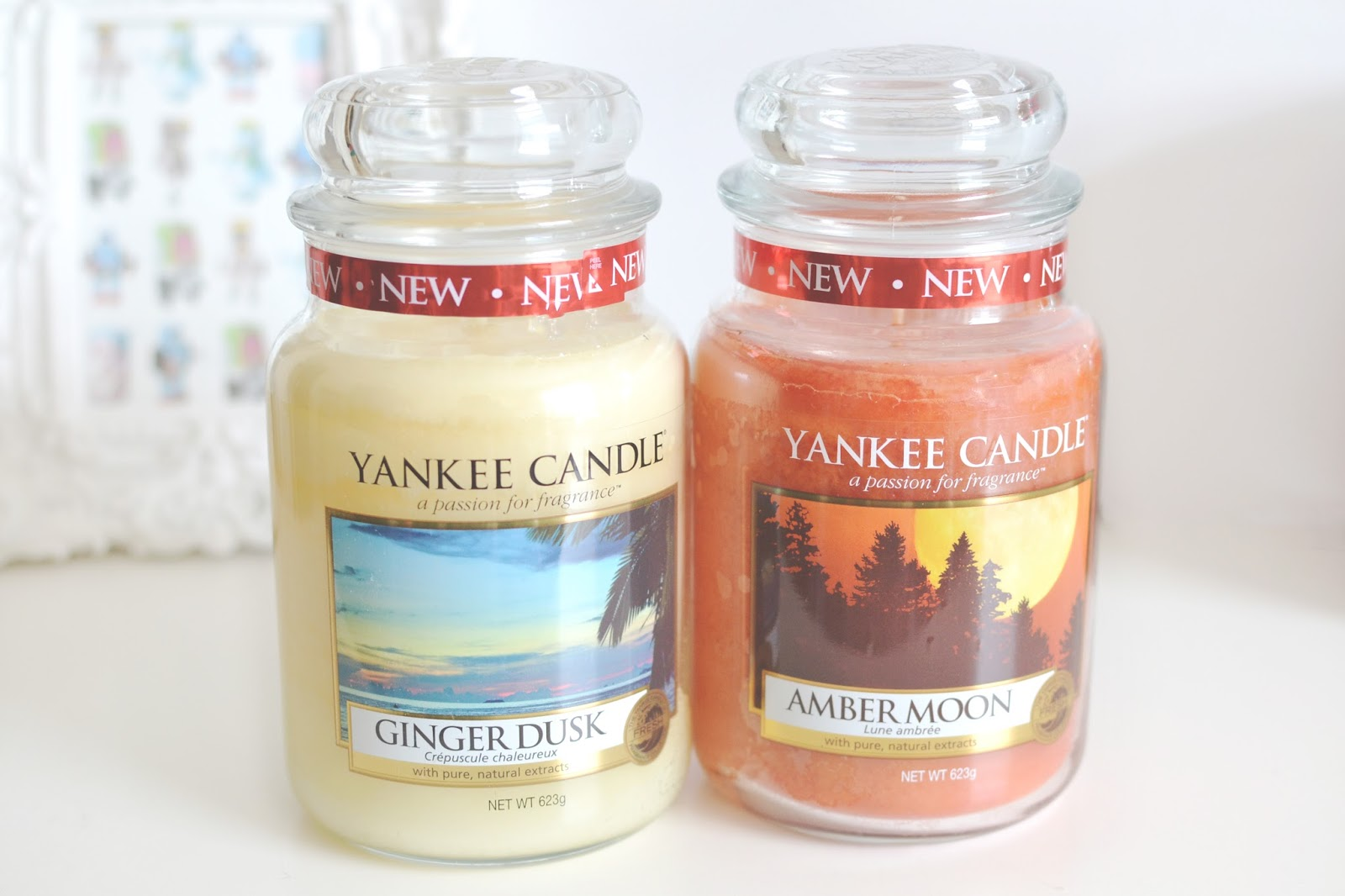 new candles from yankee candle, indian summer range from yankee