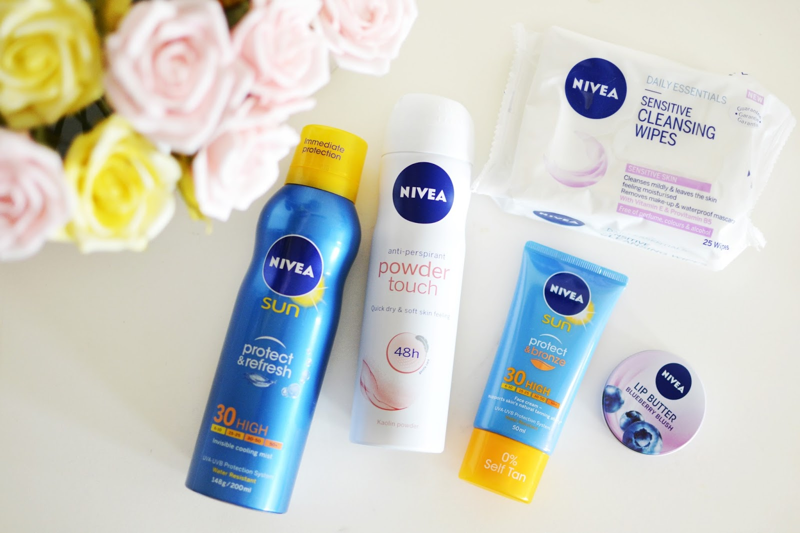 nivea products, summer beauty products, ultimate summer beauty kit, what products to take to festival