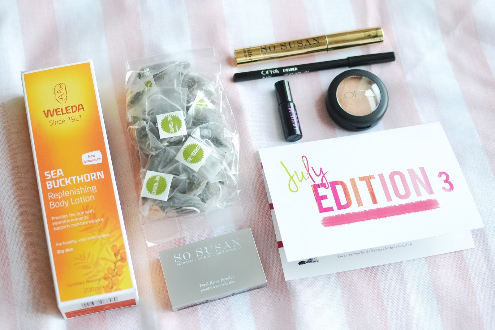 love me beauty box july 2014