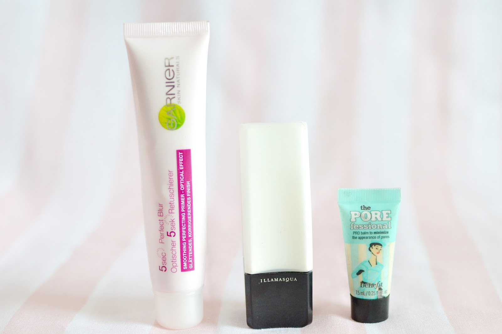 best primers, garnier perfect blur, illamasqua satin primer, porefessional