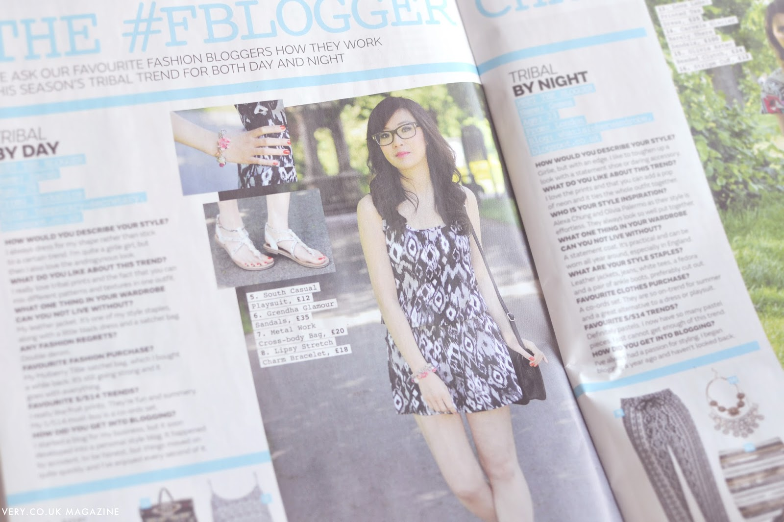 tribal trend, summer fashion trend, fashion blog uk