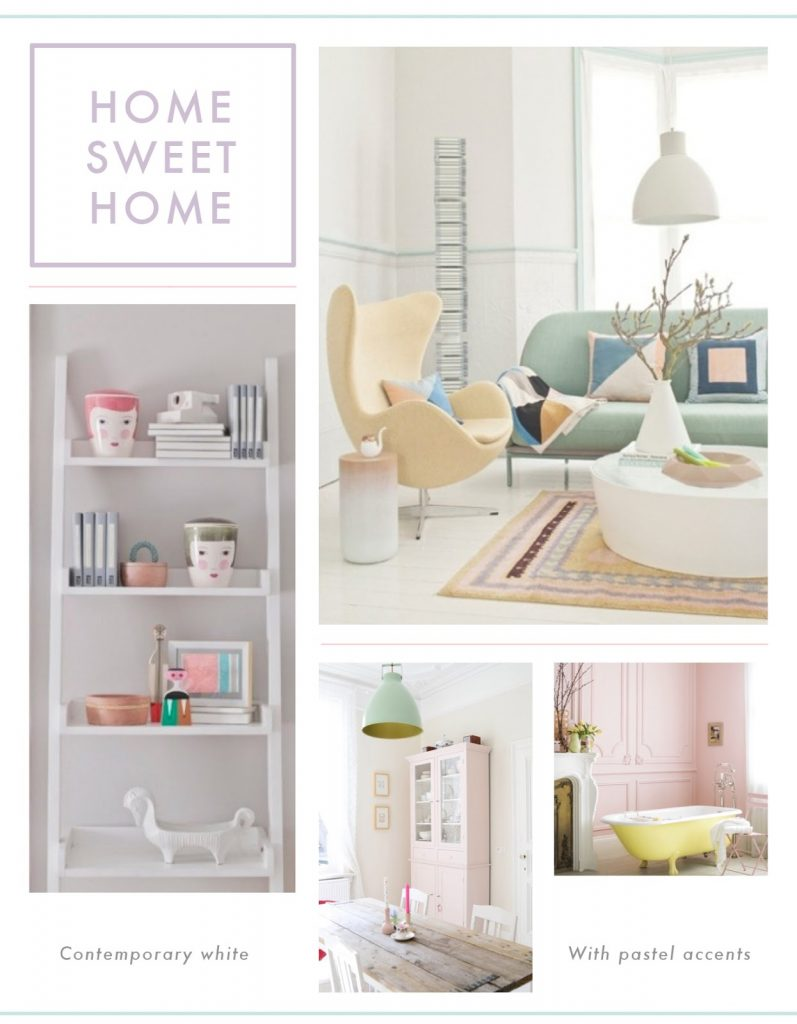 homeware, home decor, pastel home decoration