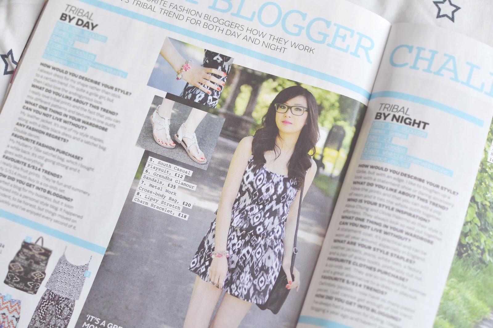 british fashion blogger, uk fashion blog, magazine press coverage fashion blog