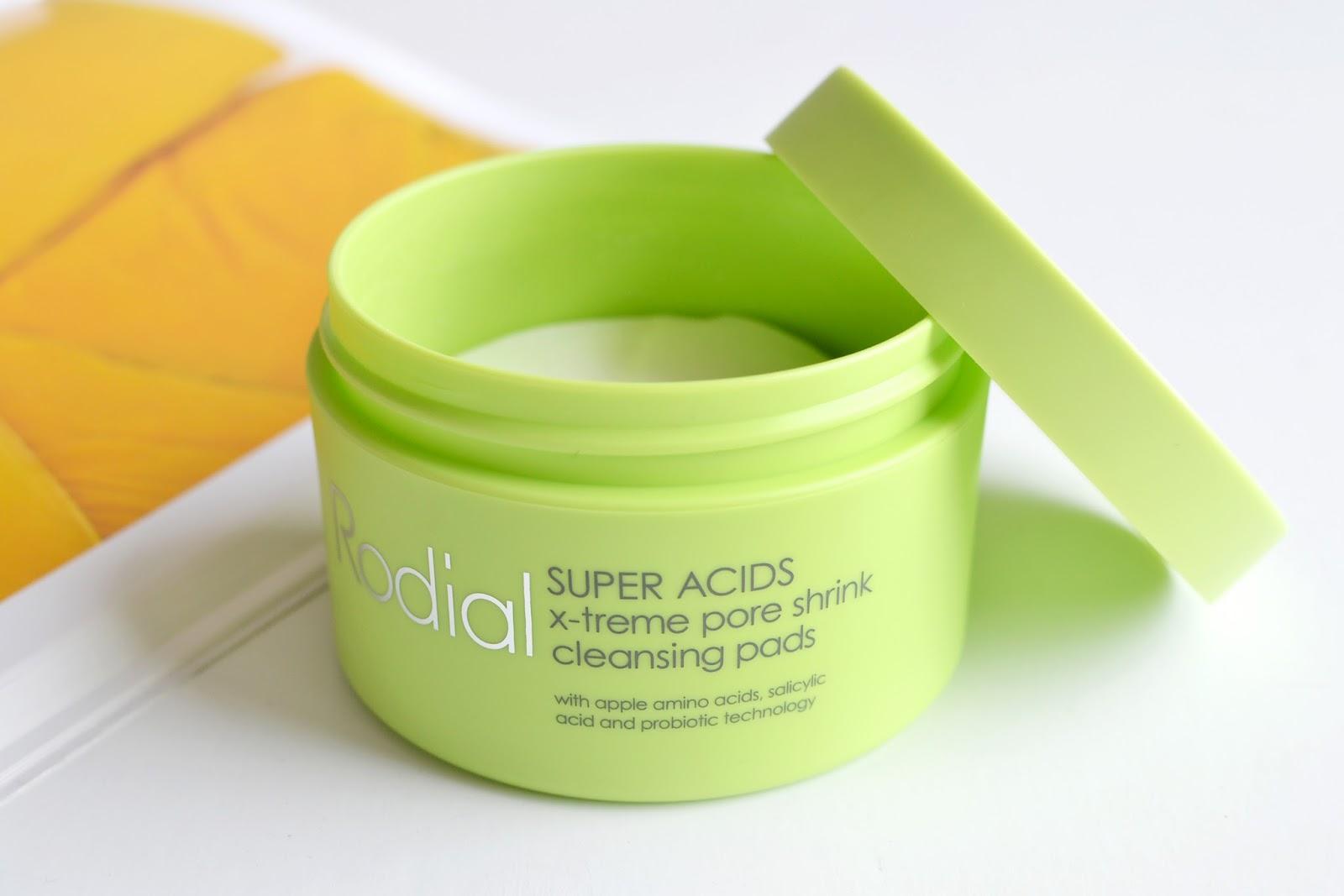 Rodial Super acids, Rodial Super acids cleansing pads