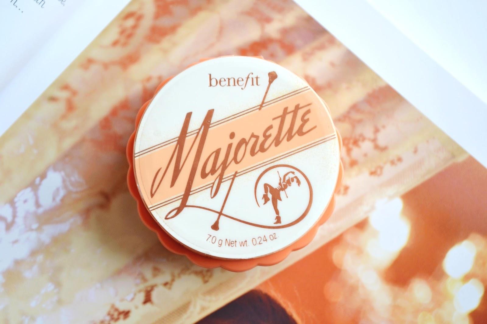 Majorette Benefit review, majorette benefit cosmetics