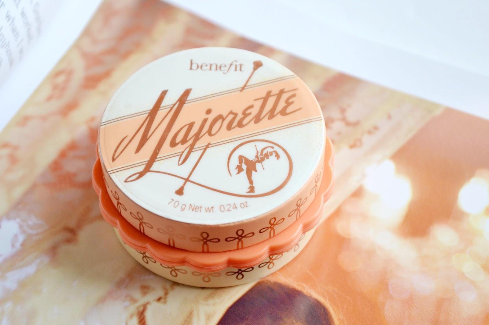 benefit Majorette, Majorette cream blush, majorette blusher