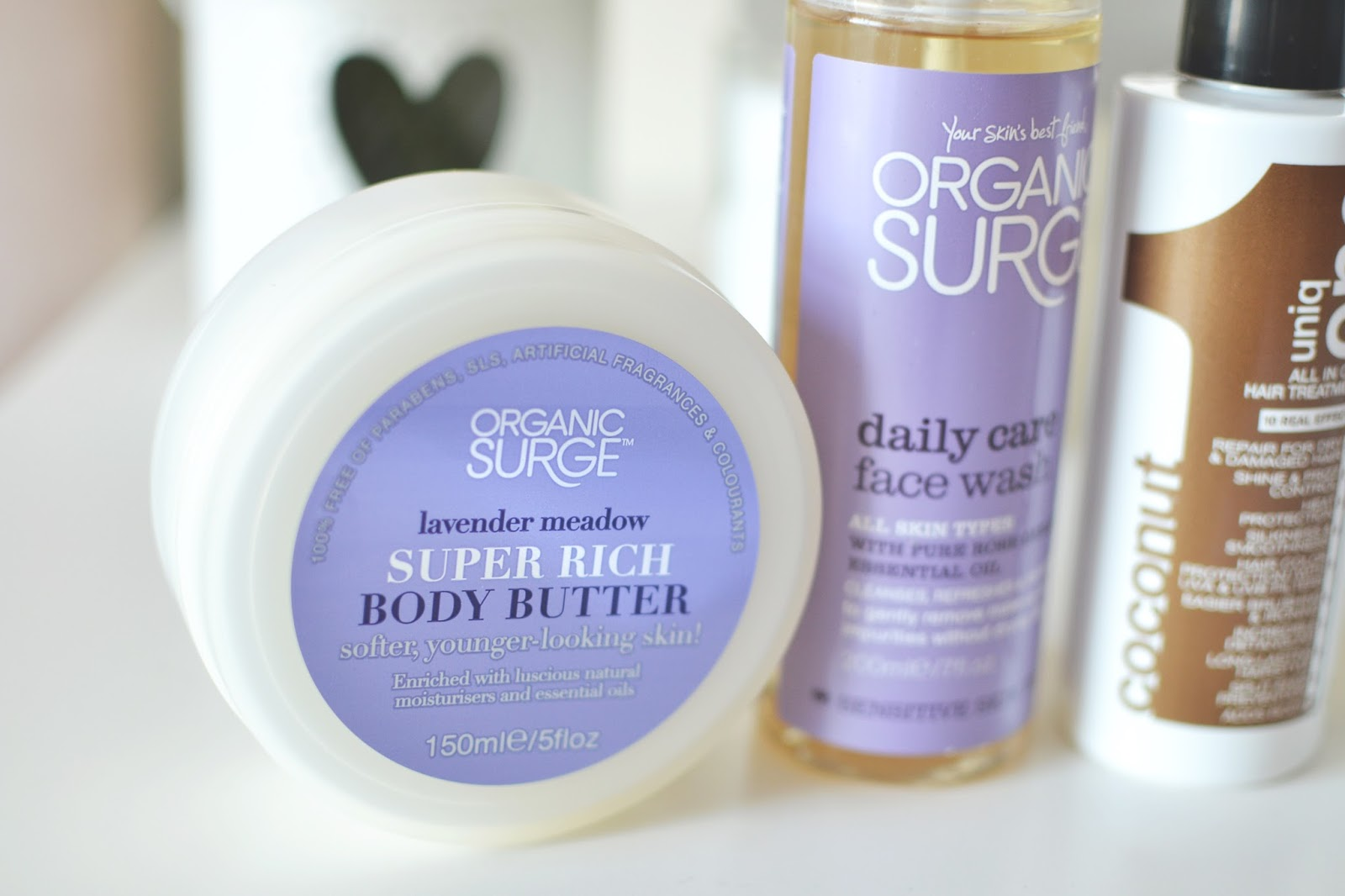 organic surge body butter, lavender body butter