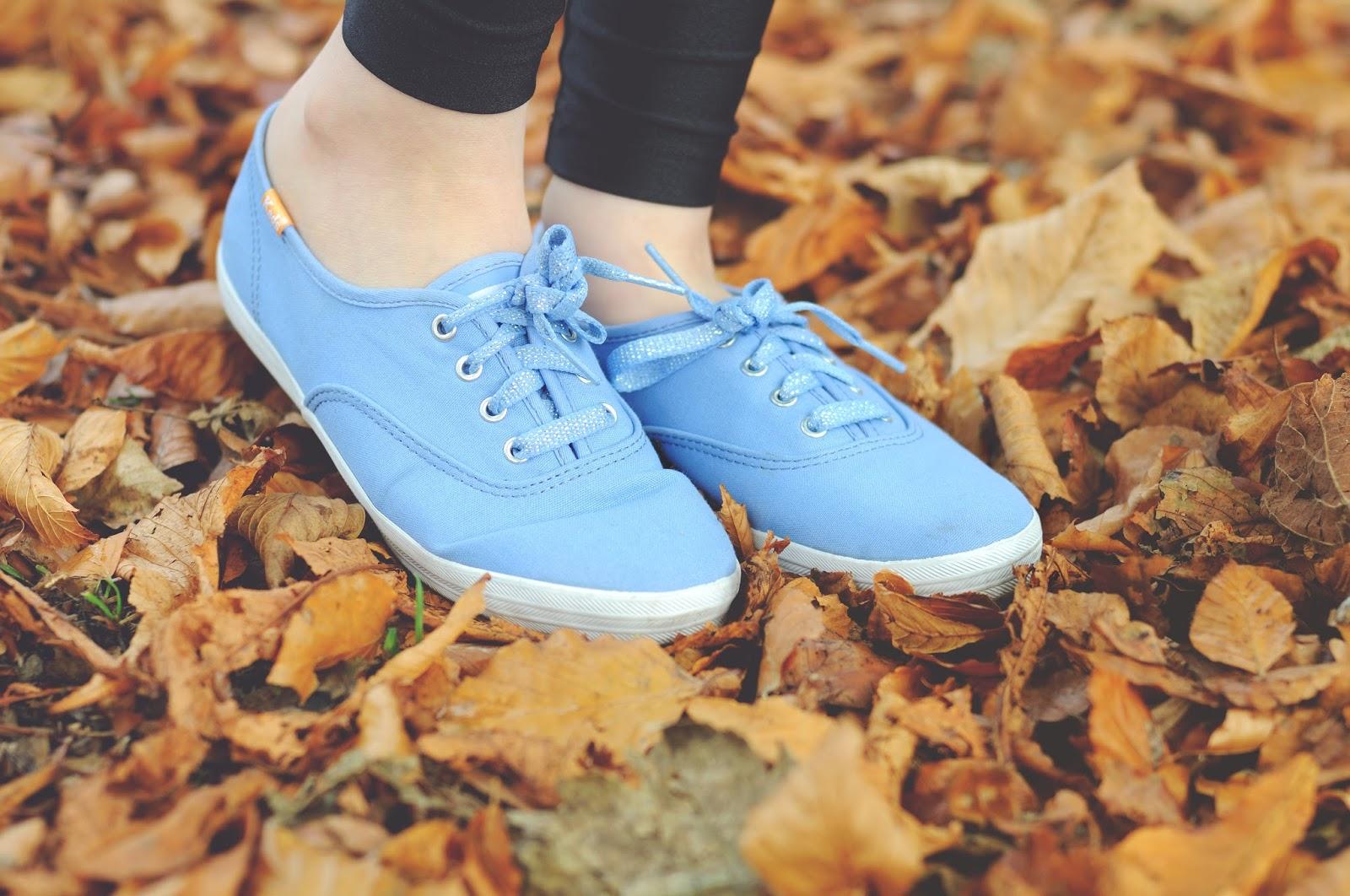 Blue keds, Keds trainers
