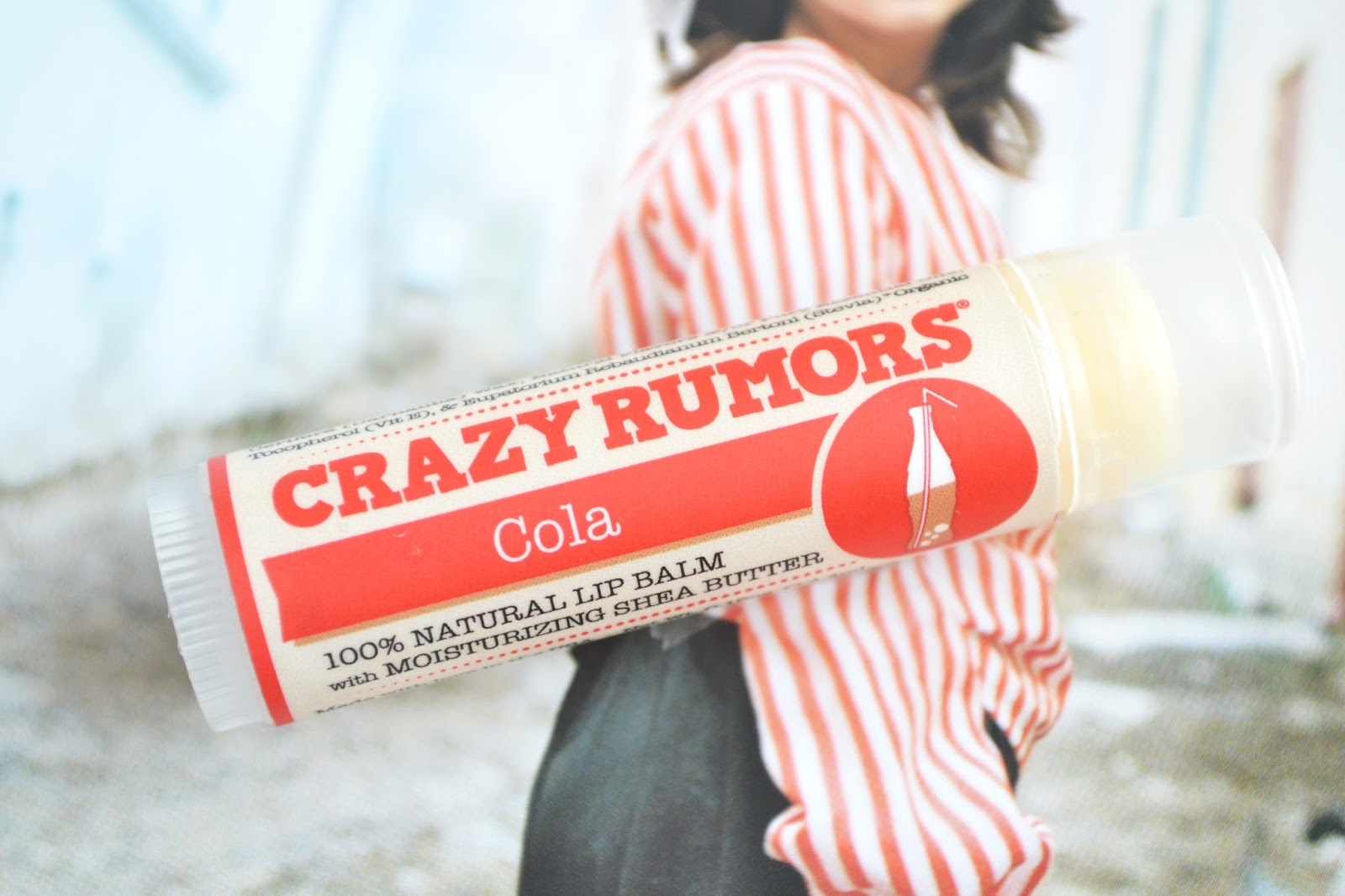 Crazy Rumors COLA lip balm review, crazy rumours lip balm UK