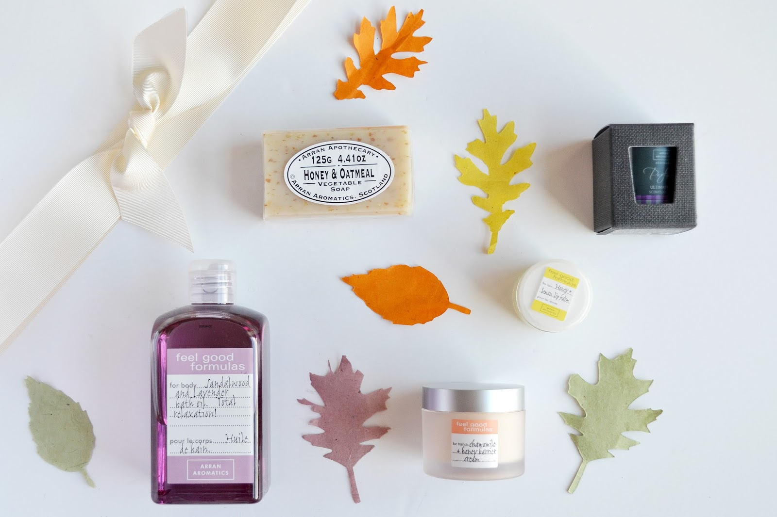 arran aromatics, pamper products, affordable pamper products