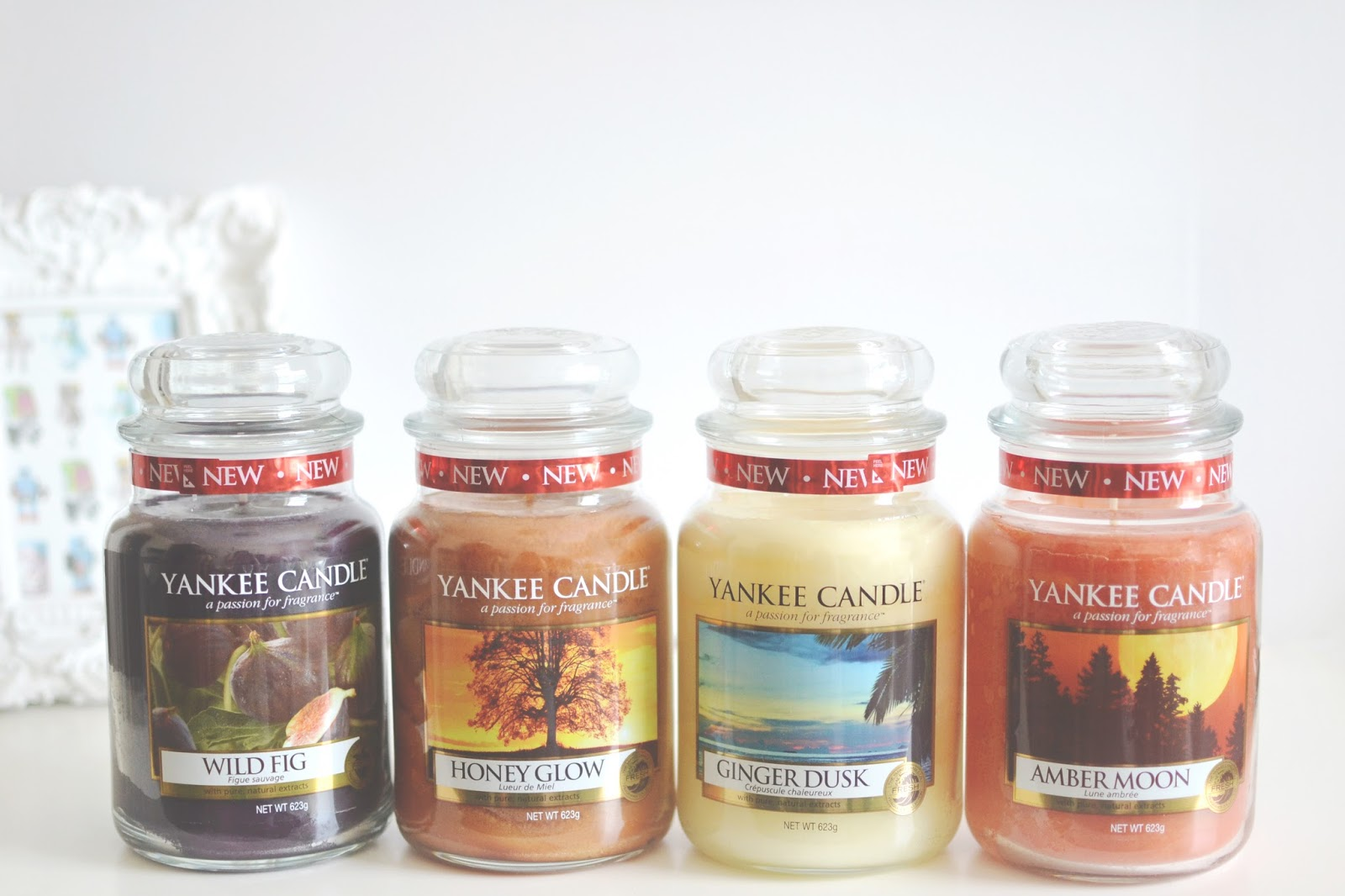 Yankee Candle indian summer collection, yankee candle indian summer