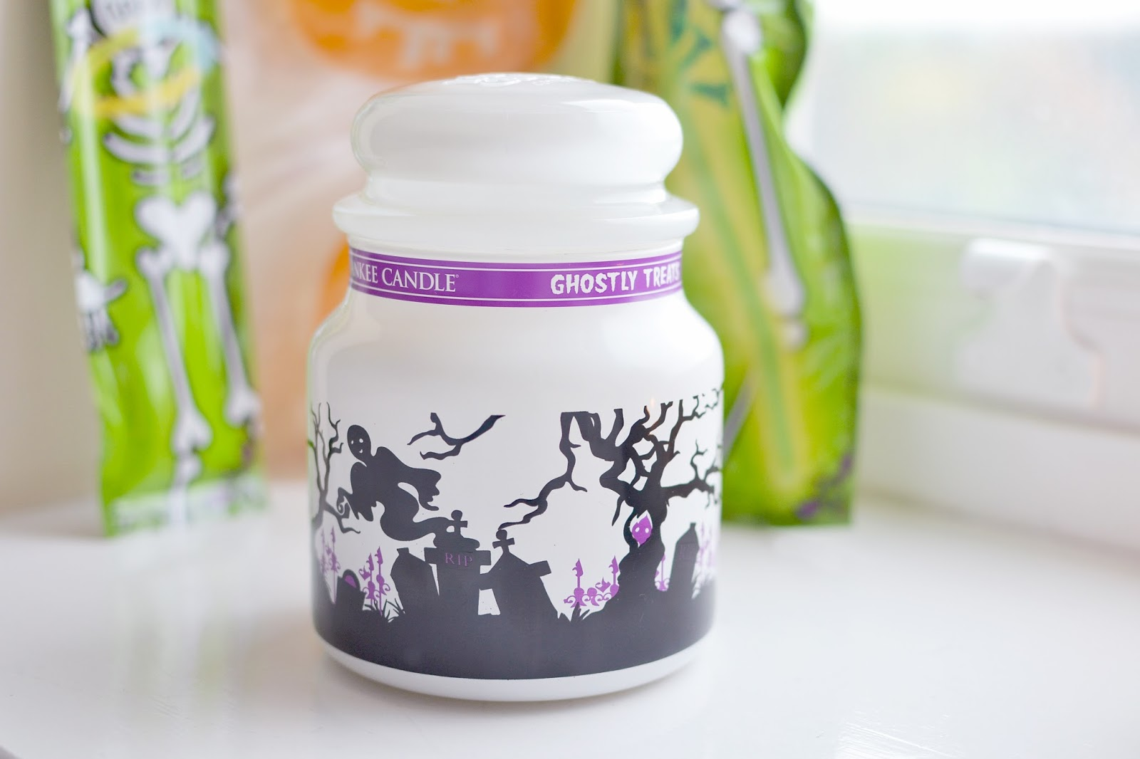 yankee candle ghostly treats review