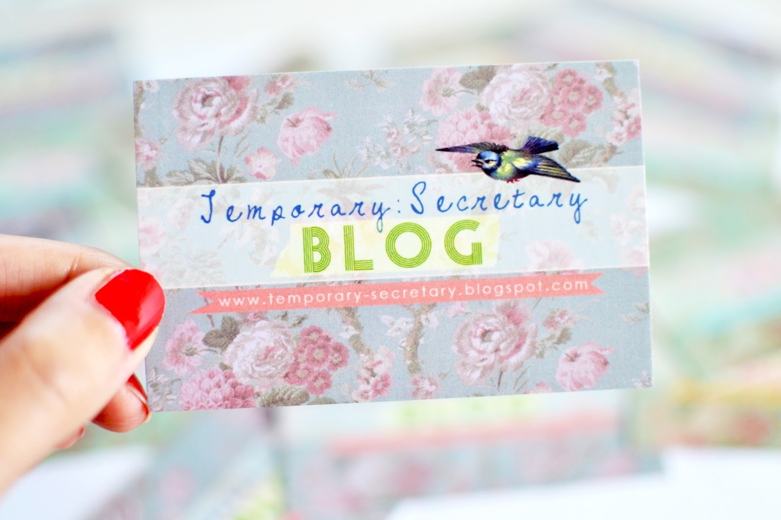 advice on how to start a blog, blog business card