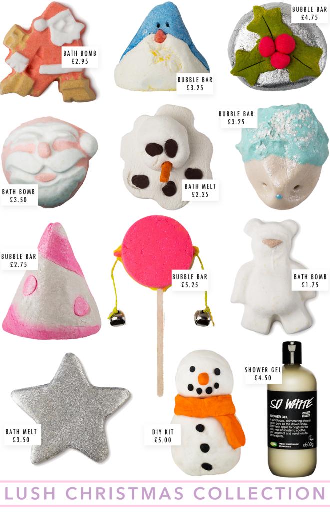 LUSH Christmas Collection 2014, lush christmas 2014