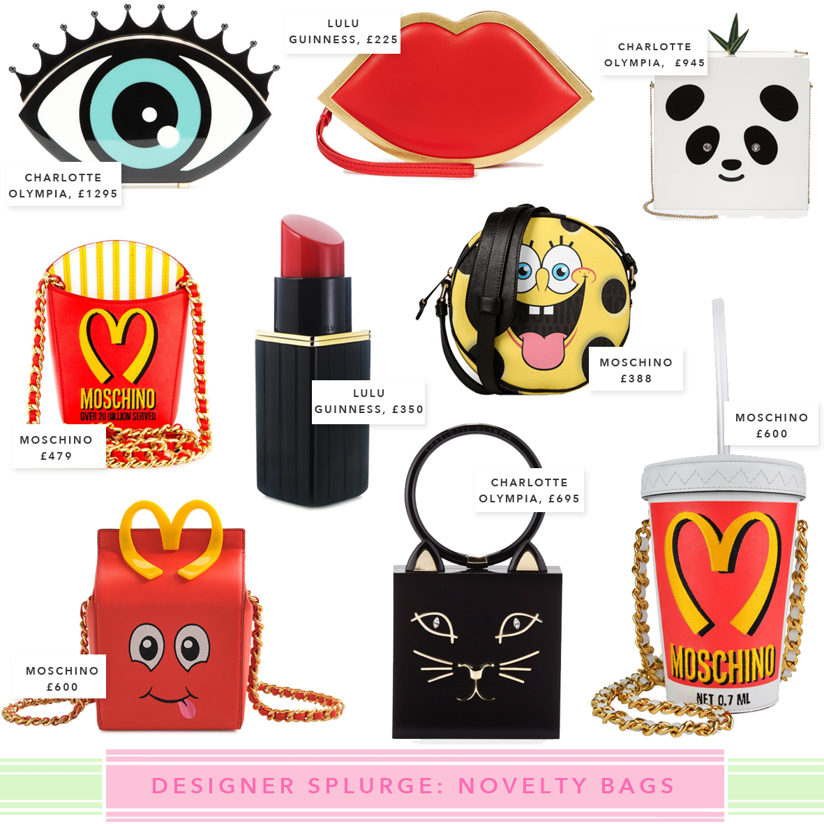 Designer Vs High Street Quirky Novelty Bags