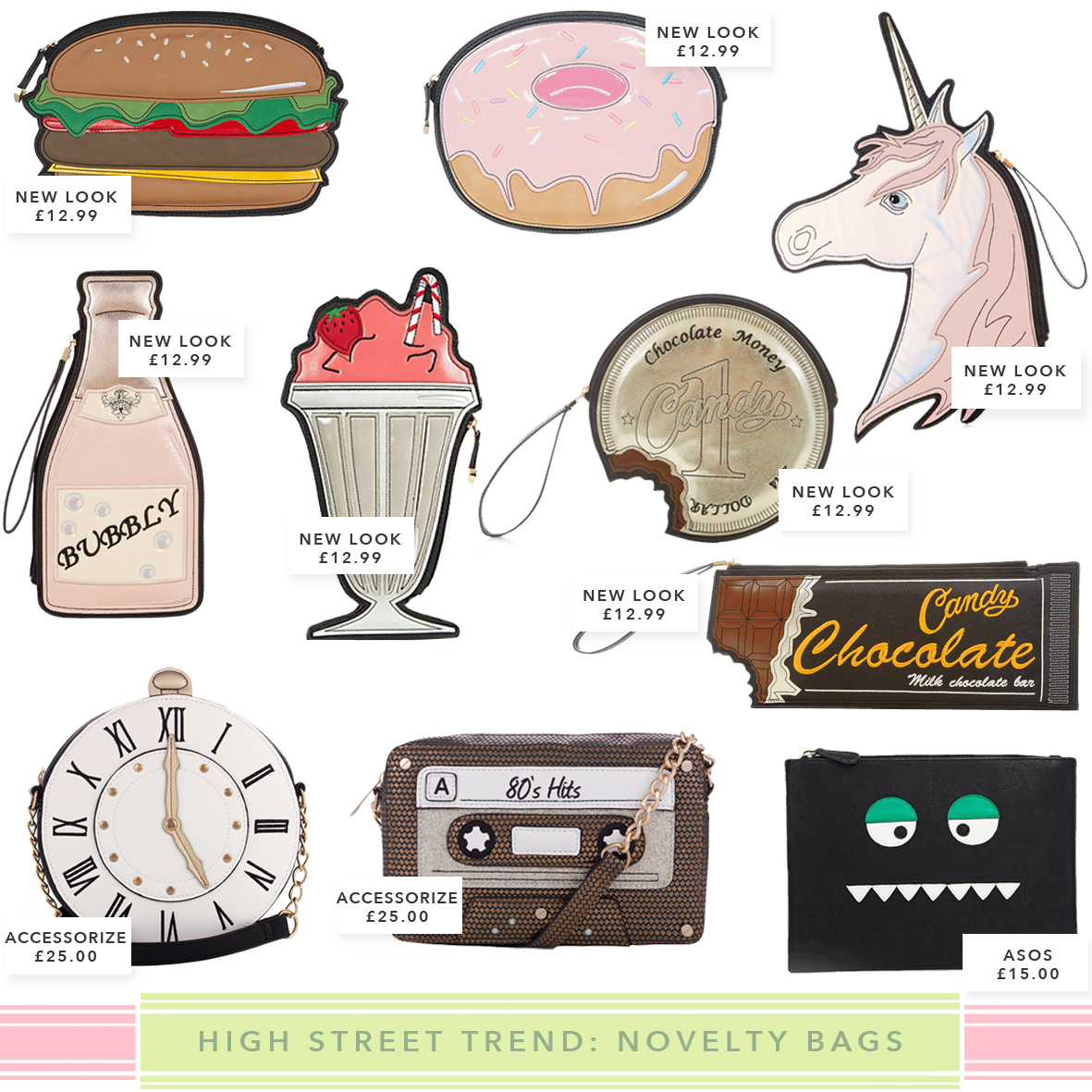 Quirky Bags Novelty Accessories