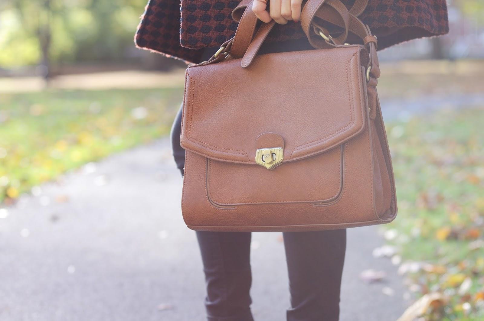 brown satchel, brown leather satchel