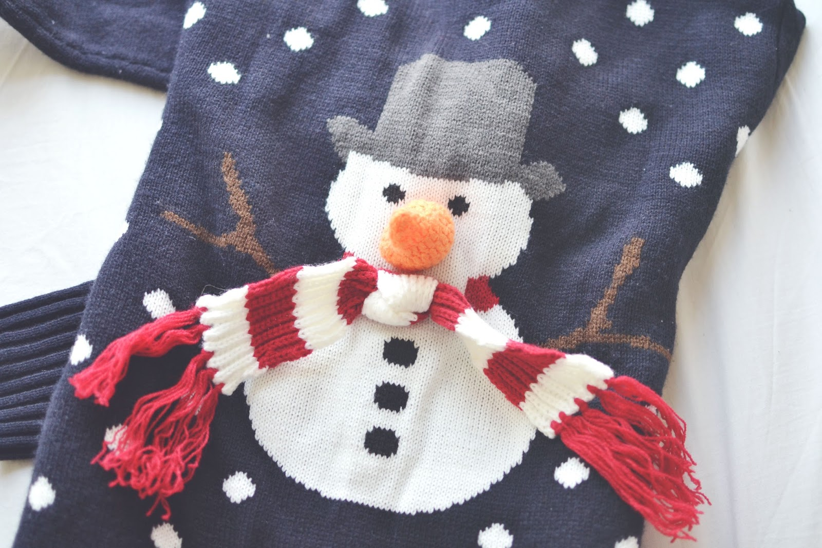 primark snowman jumper, christmas jumper from Primark, primark christmas jumpers