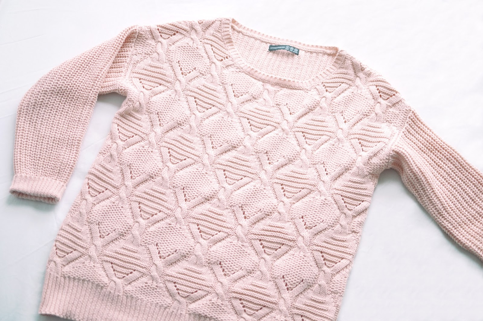 pink jumper, jumper from primark