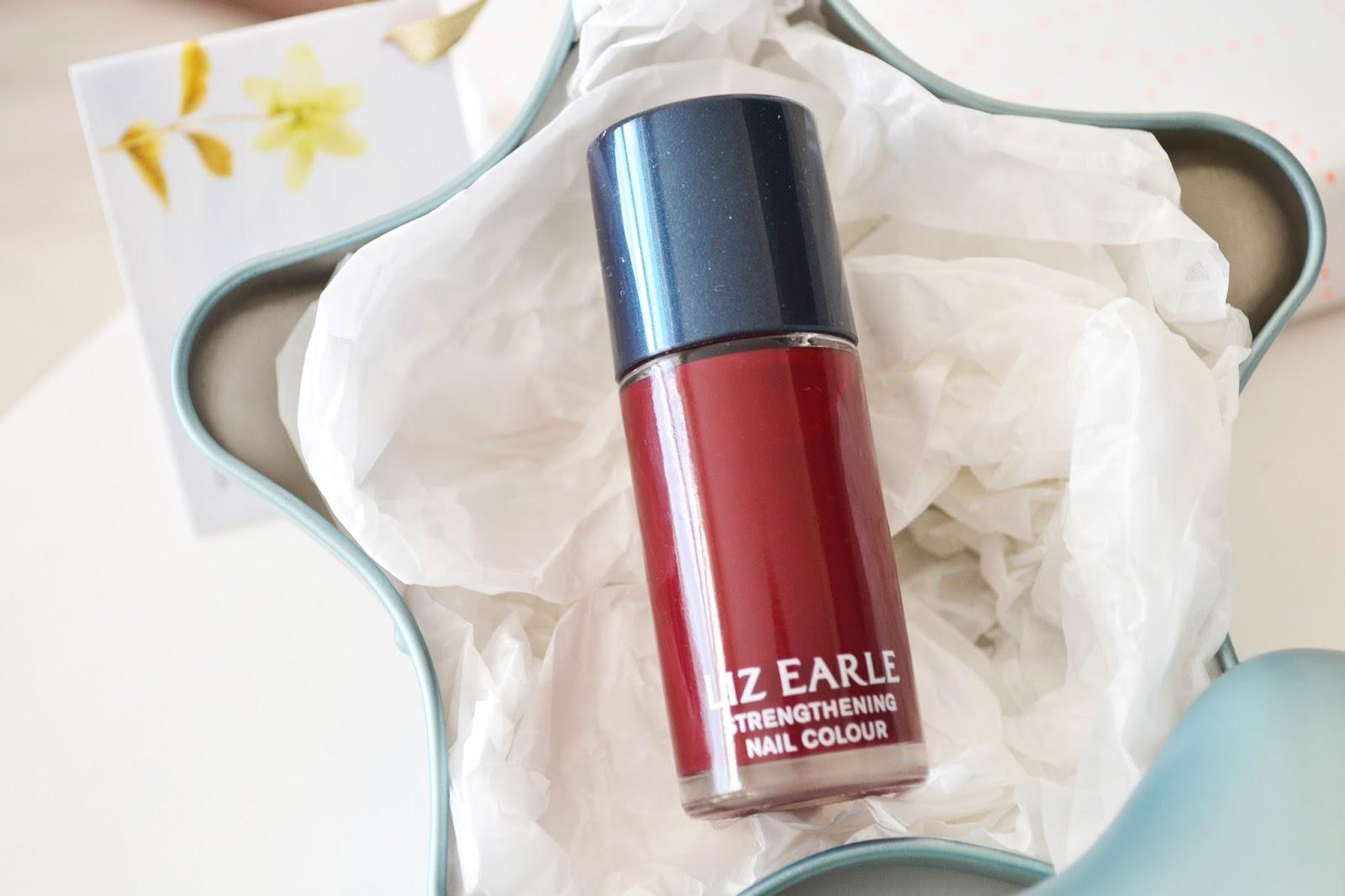 liz earle pure poetry nail polish, red nail polish, liz earle nail colour
