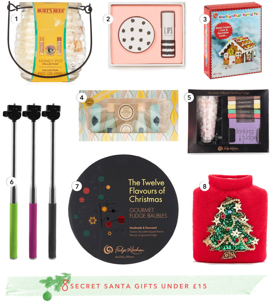 Christmas Gift Guide: Secret Santa Gifts Under £15 - Temporary ...