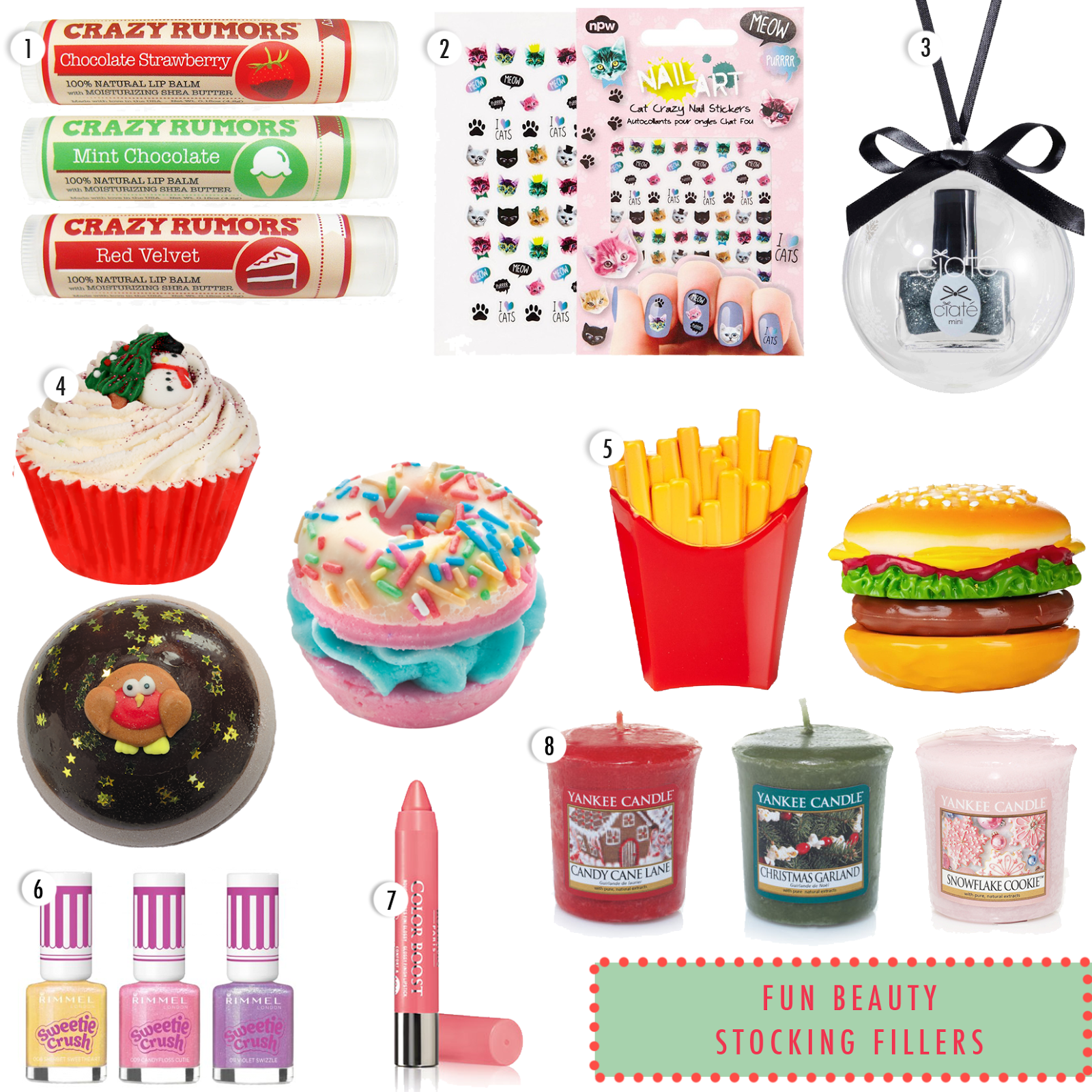 stocking fillers, beauty stocking fillers, christmas stocking fillers, christmas stocking stuffers