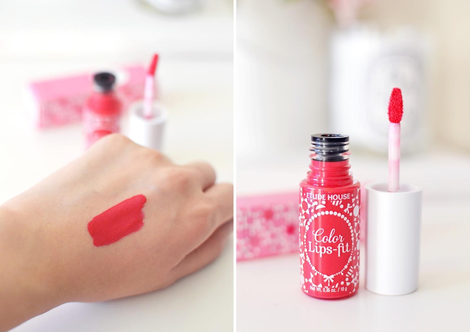 etude house, etude house lips fit, korean beauty products