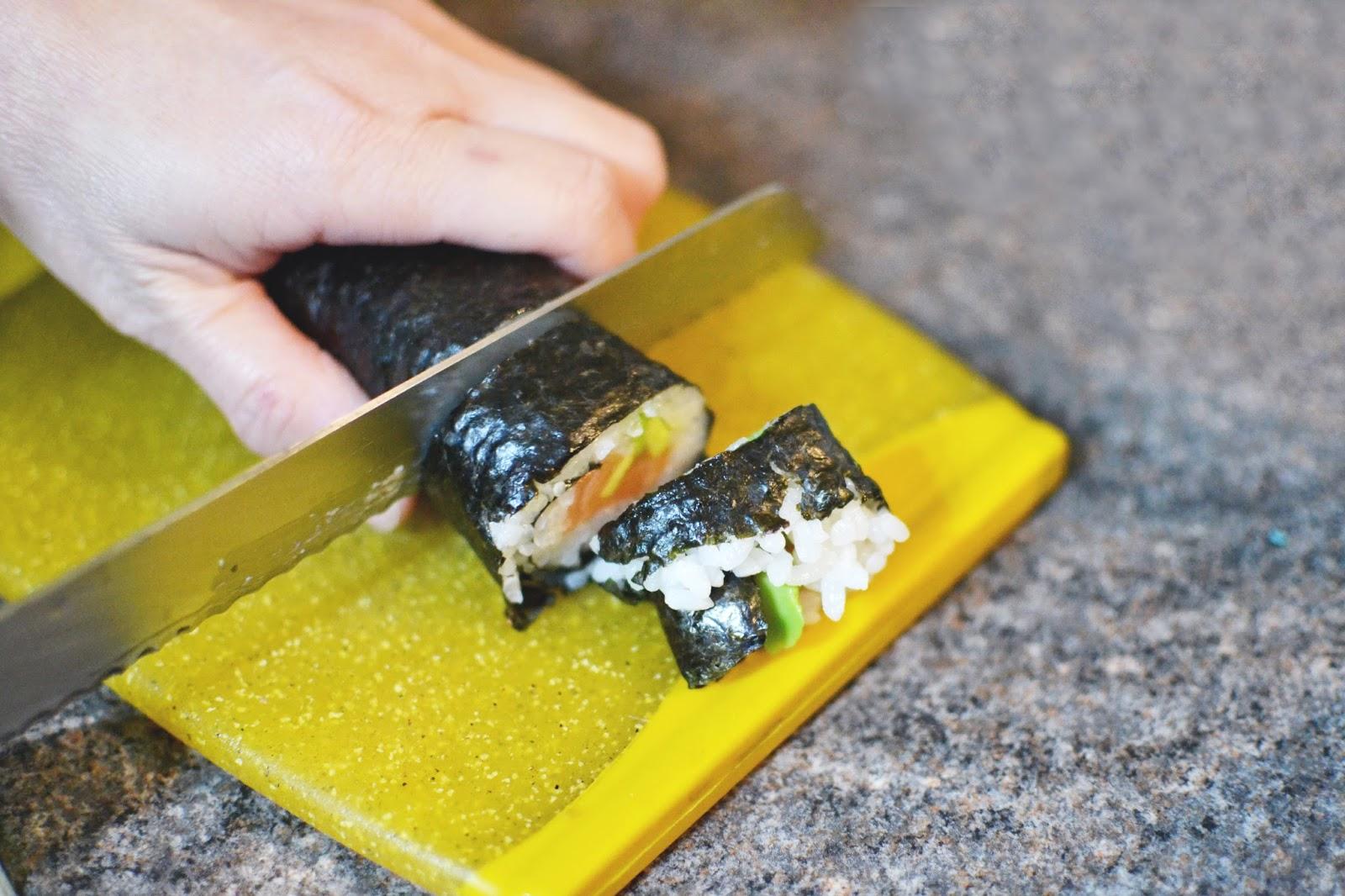 making sushi, make your own sushi