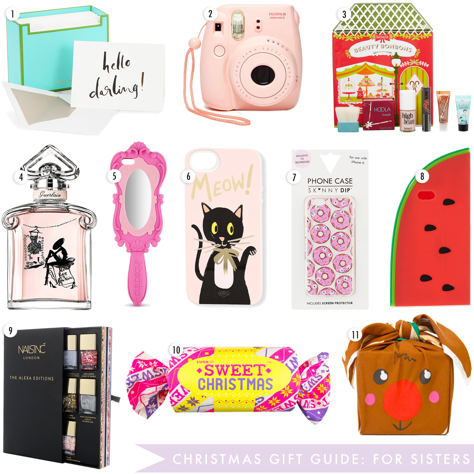 Christmas Gift Guide, What To Buy For Sisters Christmas, christmas present for sisters