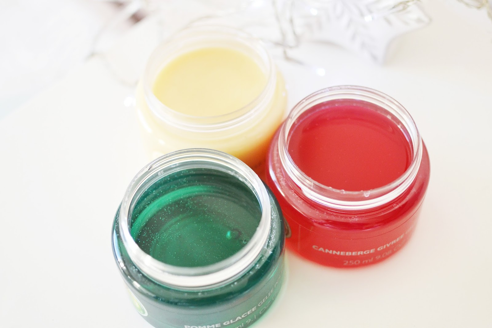the body shop bath jelly, the body shop christmas gift