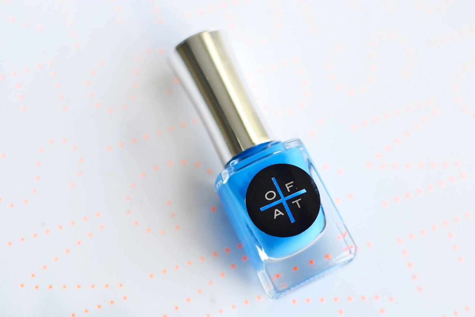 bright blue nail polish, blue nail polish, only fingers and toes nail polish