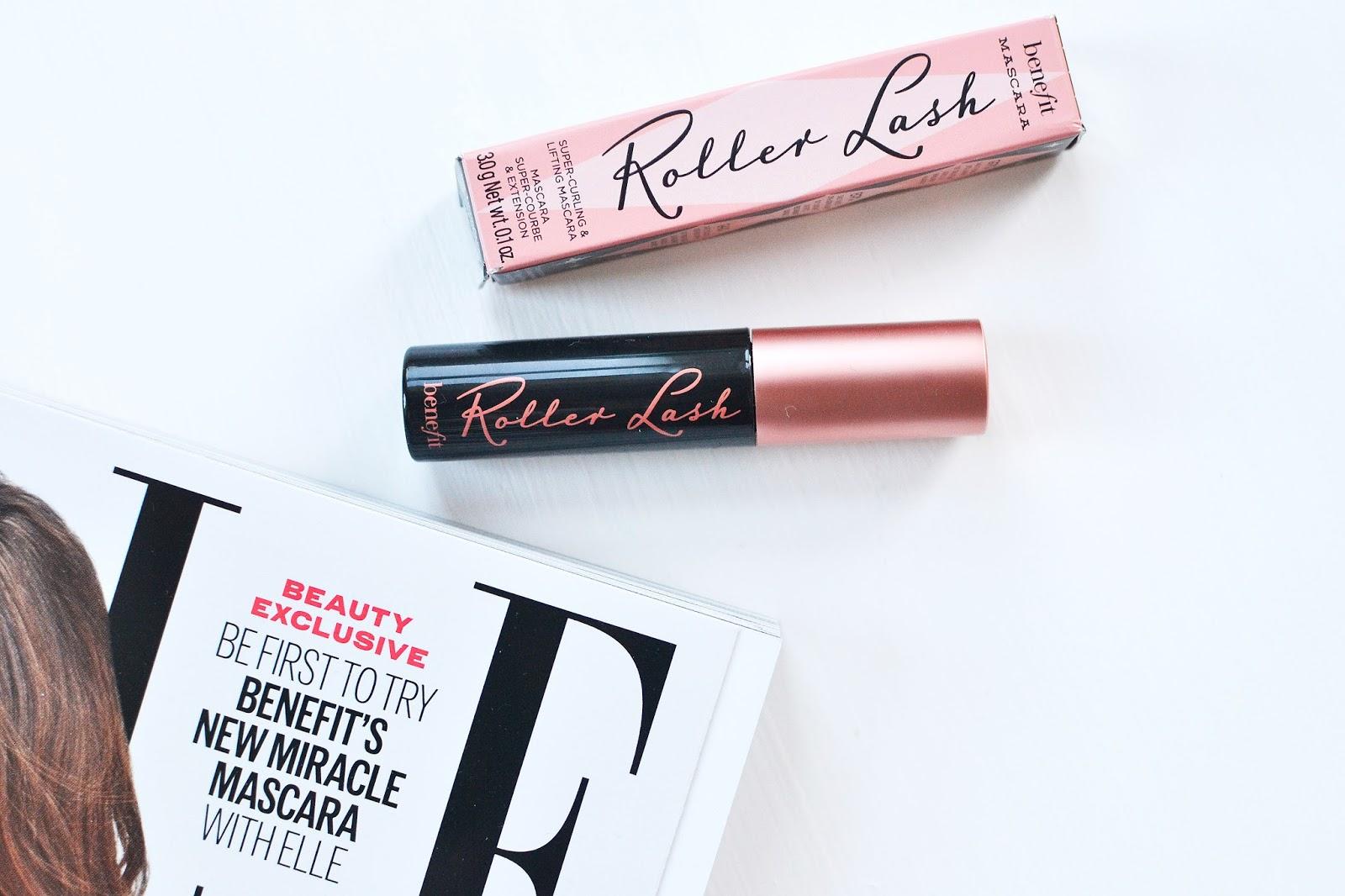 Benefit's Roller Lash Mascara, benefit roller lash, benefit cosmetics roller lash,