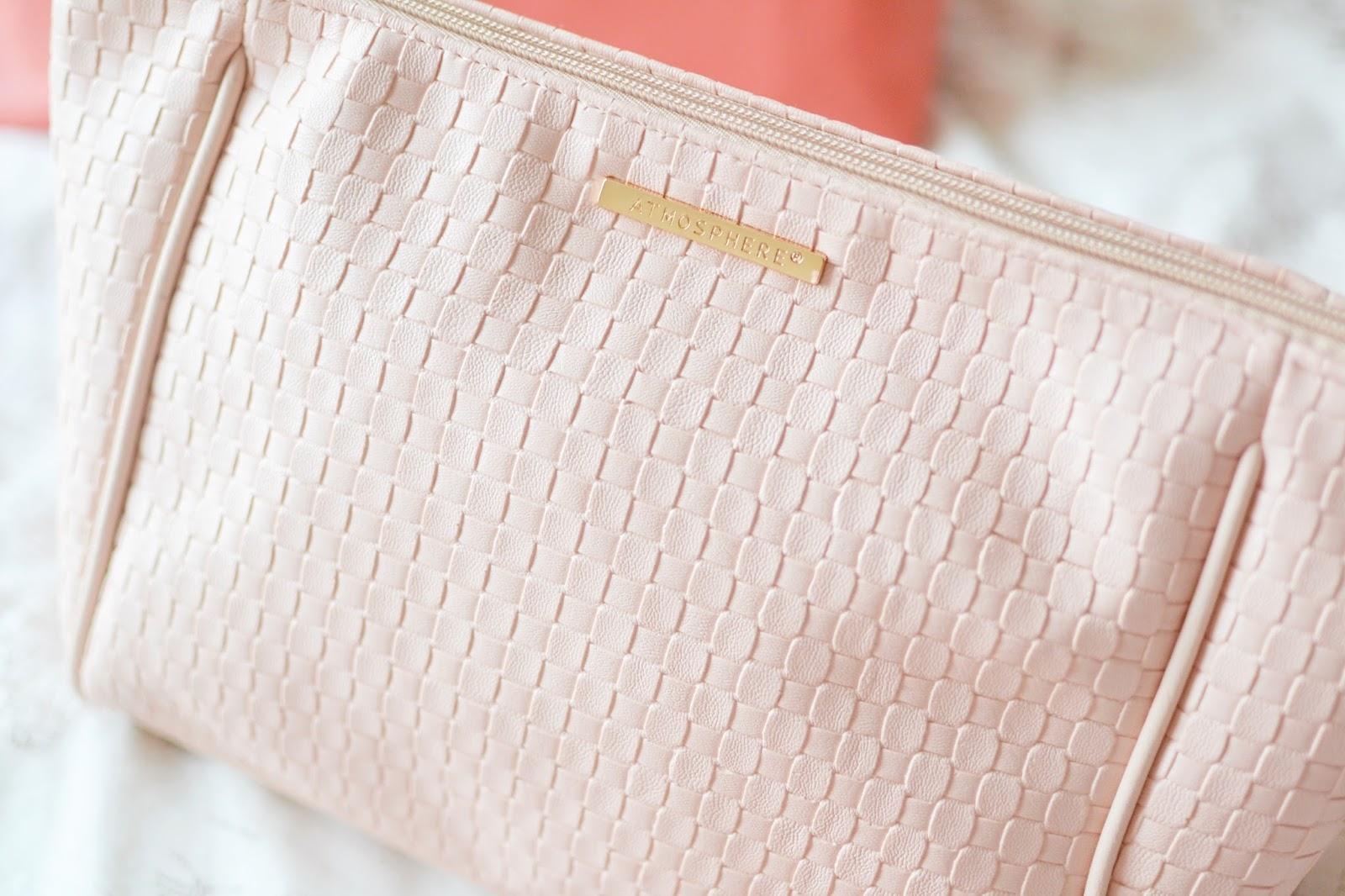 primark make up bag, primark wash bag, pink wash bag,
